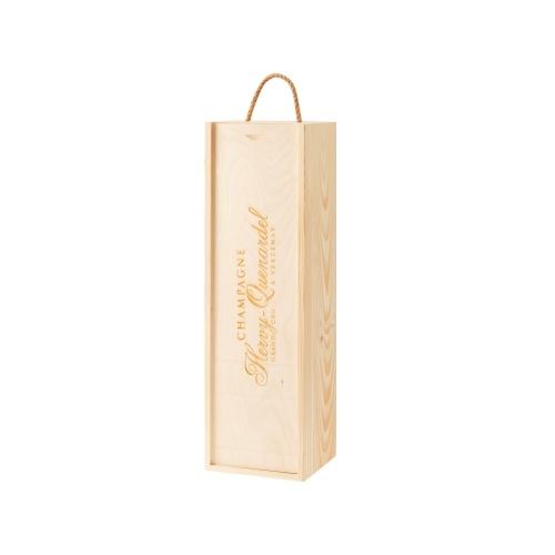Étui en bois pour 1 jéroboam de Champagne