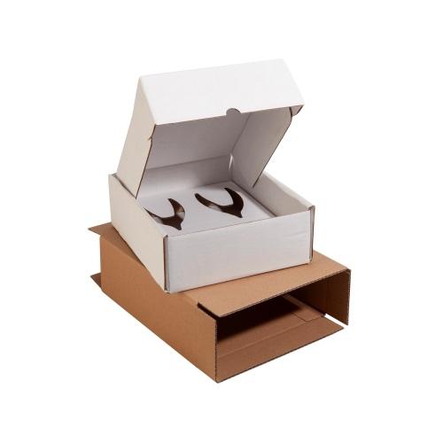 Boîte d'emballage en carton pour l'expédition de flûtes