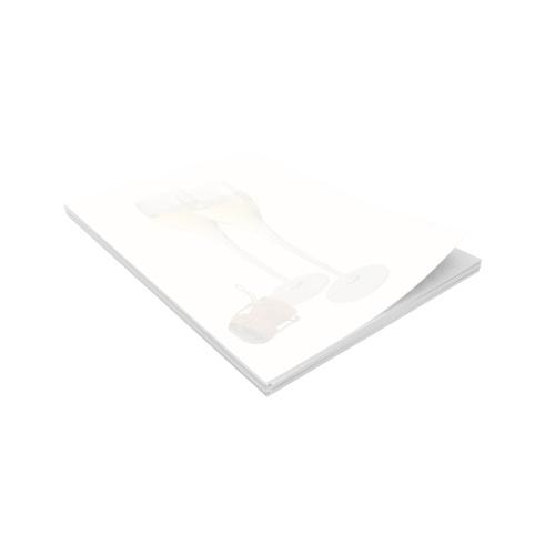 Ramette de papier préimprimé avec un décor de flûtes et bouchon
