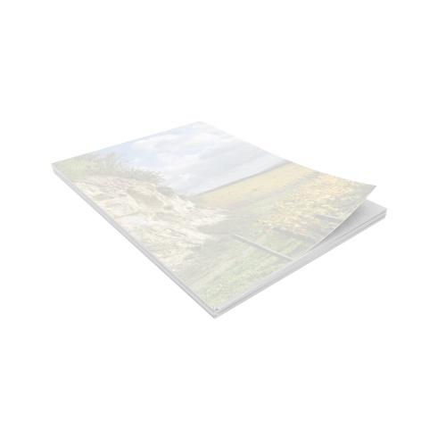 Ramette de papier préimprimé avec un décor de vignoble